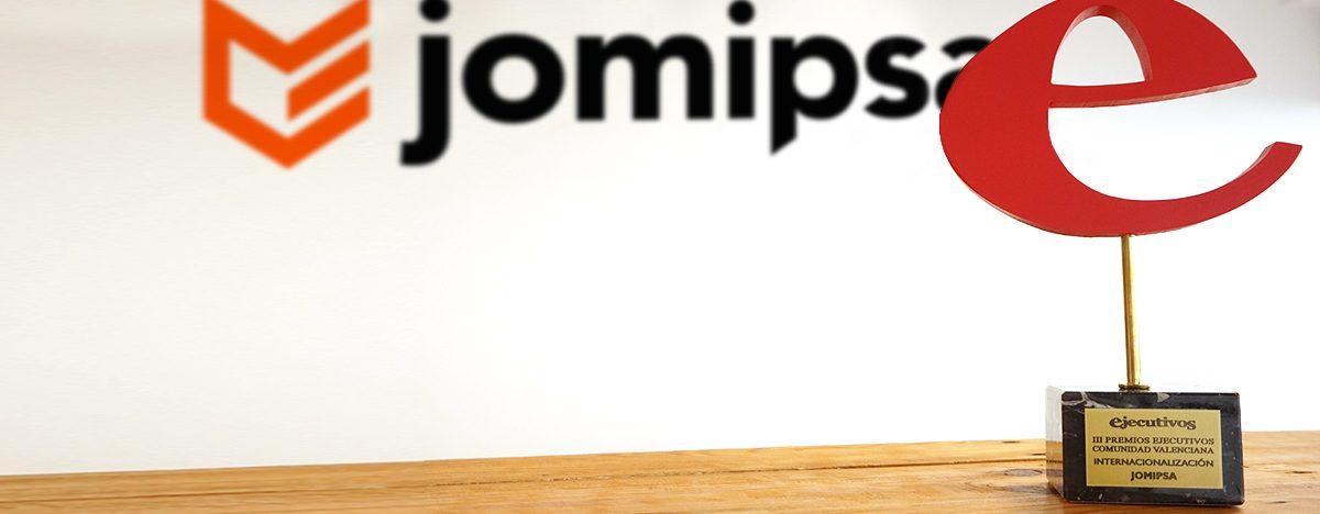 JOMIPSA RECIBE EL PREMIO A LA INTERNACIONALIZACIÓN DE LA REVISTA EJECUTIVOS