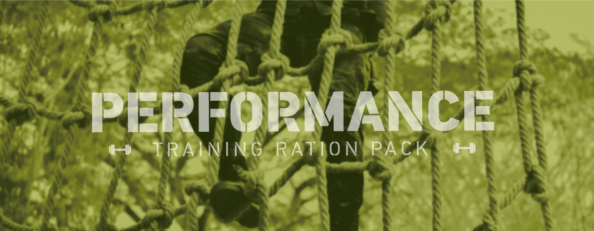 THE FIRST RATION SPECIFIC FOR MILITARY TRAINING