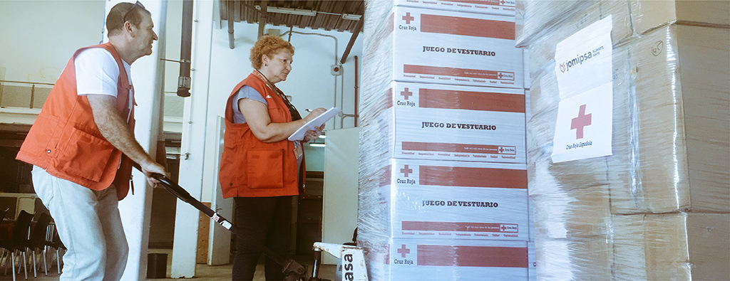 Jomipsa, more than 20 years working with the Spanish Red Cross